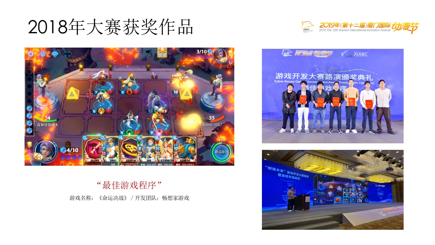 "2018年大赛""最佳游戏程序""获奖作品 / Winner of the Best Game Appliaction Award in the 2018 Contest"